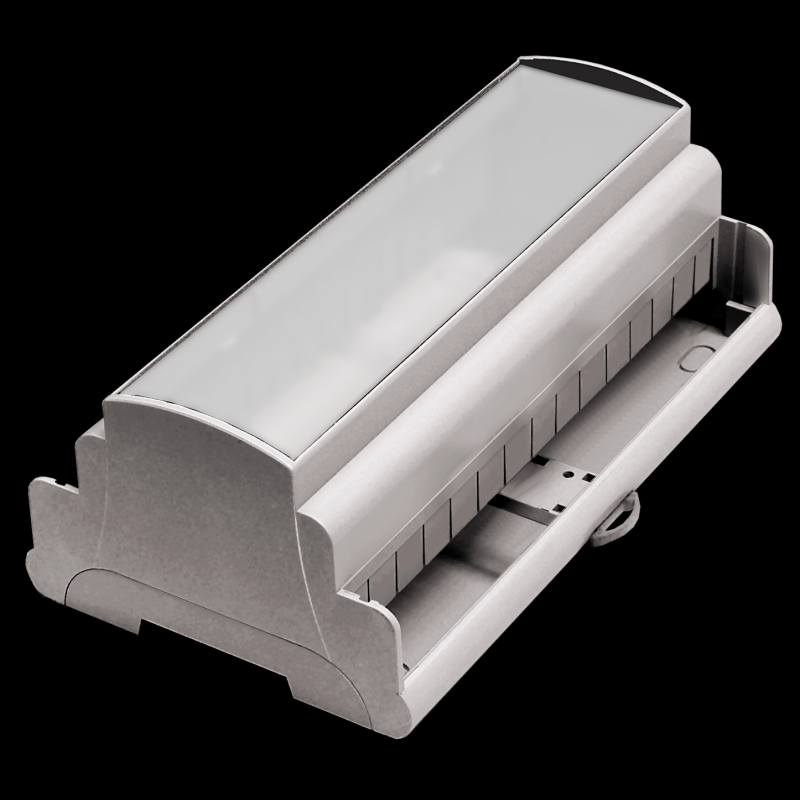 Elbag DIN Rail Modular Enclosures, 1-9 Way